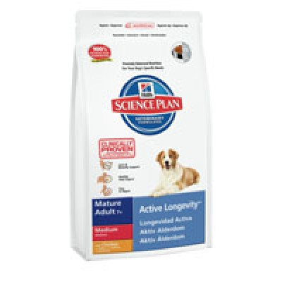 Hill's SP Canine Mature Adult 7+ Active Longevity Razas Medianas  3 Kg