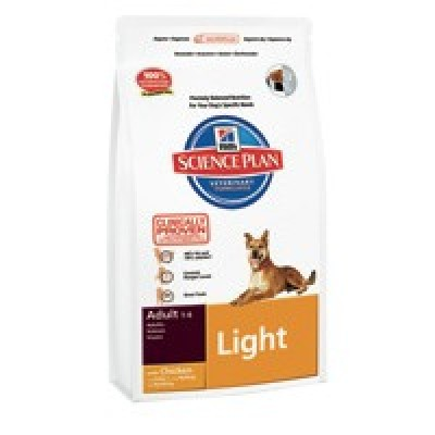 Hill's SP Canine Adult Light con Pollo 12 Kg