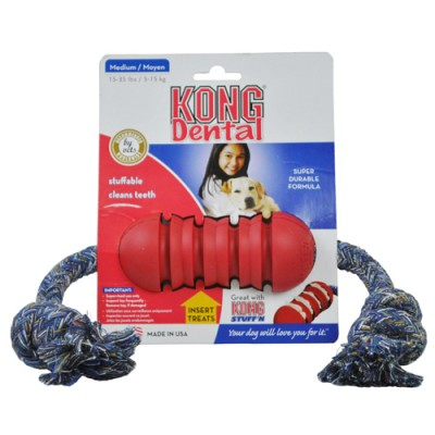 Dental Kong With A Rope-Medium
