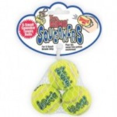 Air Kong Squeaker Tennis Ball Extra Small X 3