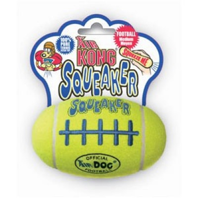 Air Kong Squeaker Football Medium