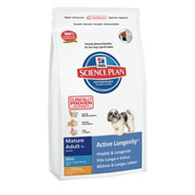 Hill's SP Mature Adult 7+ Active Longevity mini con Pollo 3 Kg
