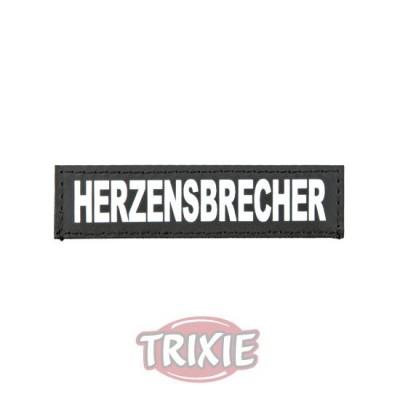Etiquetas Velcro Julius-K9, Xs, Herzensbrecher