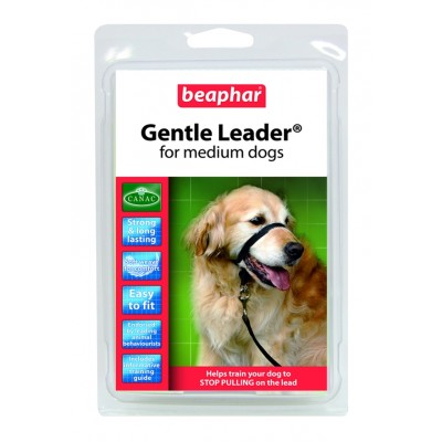 GENTLE LEADER -TALLA  MEDIANA NEGRO