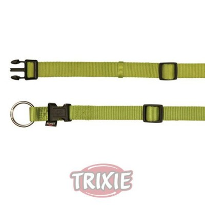 Collar Nylon Premium, L-Xl,40-65Cm,25Mm,Verde Lima