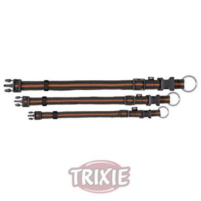 Collar Fusion, S-M, 30-45 Cm,17 Mm, Negro/Naranja