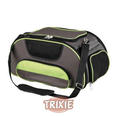 Bolsa Airline Carrier, 28×23×46cm, Marrón/Verde