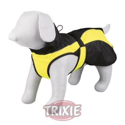 Capa Safety, M, 50 Cm, Negro-Amarillo