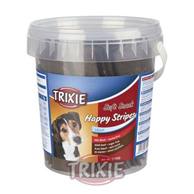 Bote Soft Snack Happy Stripes, 500 G, Ternera