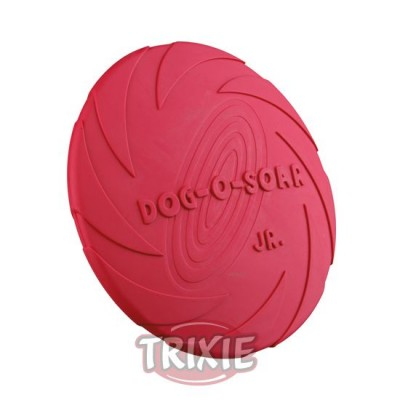 Dog Disc, Caucho Natural, Ø 15 Cm