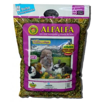 Alfalfa Rosa Mosqueta Y Diente De Leon 500 Grs.