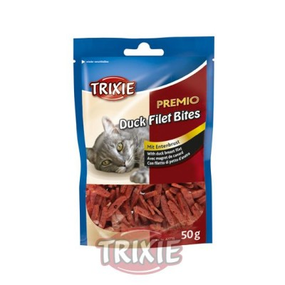 Premio Duck Filet Bites, Pato, 50 G