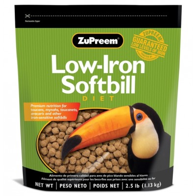 Low-Iron Softbill Diet 1,125 Kgs
