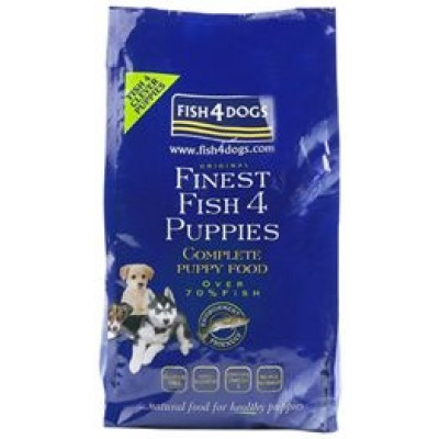 Finest Fish4Puppies Complete 12 Kg. (Large Bite)