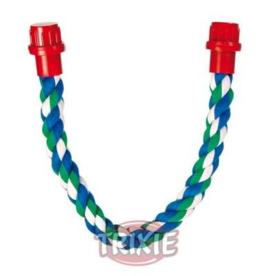 Perchas Cuerda Multicolor, Algodón, 37 Cm,Ø 16 Mm