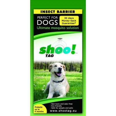 Shoo!Tag Para Perros - Mosquito