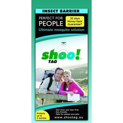 Shoo!Tag Para Personas - Mosquito