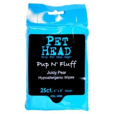 Pet Head Pup N'Fluff (Toallitas Hipoalerg.) 25 Uni