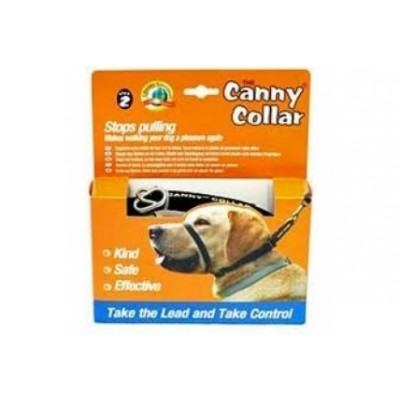 COLLAR CANNY DOG COLOR AZUL 23-28cm