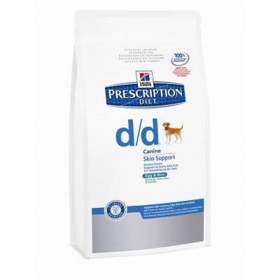 Hill´s PD Canine d/d salmón y arroz 5  kg