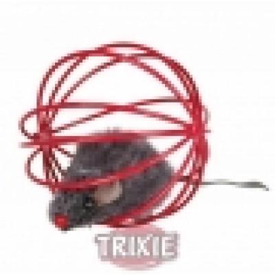 Juguete Ratón En A Wire Pelota, Ø 6 Cm - 1 unidad