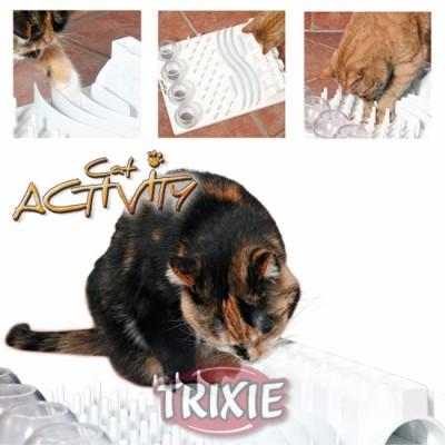 Cat Activity Fun Board, 5 Opciones, 30X40 Cm