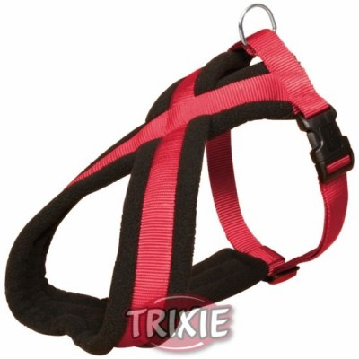 Petral Nylon Premium, S: 35-50 Cm,25 Mm, Rojo