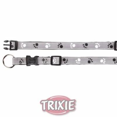 Collar Plata Reflect, S-M, 30-45 Cm,15 Mm, Ng./Gr.