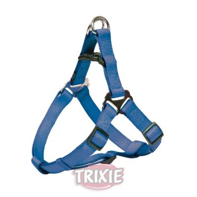 Petral Nylon Premium, S: 40-50 Cm,15 Mm, Azul