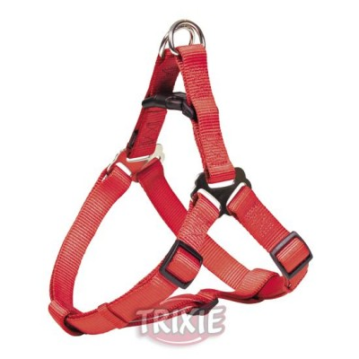 Petral Nylon Premium, Xs-S: 30-40 Cm,10 Mm, Rojo