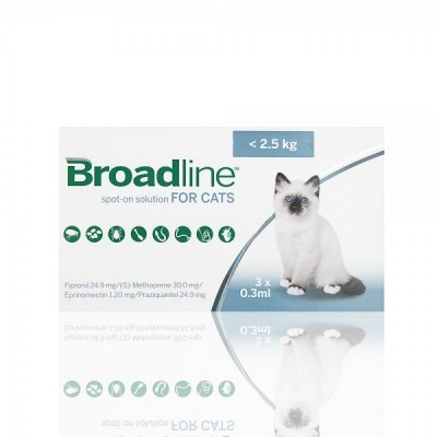 BROADLINE GATOS <2,5kgs-  3 APLIC