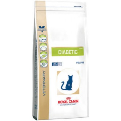 Royal Canin Diabetic DS46 1,5 kg + Diabetic puch 100Gr