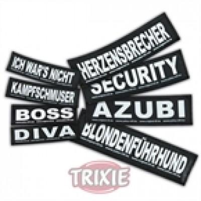 Etiquetas Velcro Julius-K9 Gangster, S