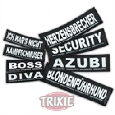 Etiquetas Velcro Julius-K9 Ich Wolf Du Schaf,S