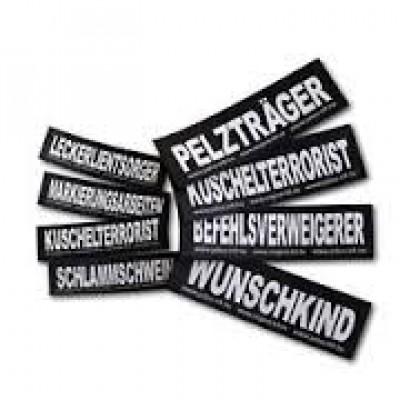 Etiquetas Velcro Julius-K9 Ich Wars Nicht!, L