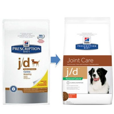 Hill´s PD Canine j/d Reduced Calorie Mobility 12kg