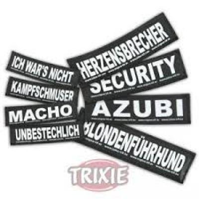 Etiquetas Velcro Julius-K9 Gangster, L