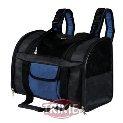 Mochila Connor, 44×21×30 Cm, Negro/Azul