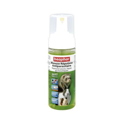Mousse Repulsivo Antiparasitário Roedores 150 Ml