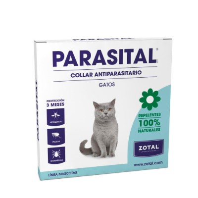 Parasital Collar Repelente GATOS