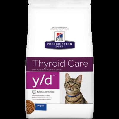 Hill's PD Feline y/d Tiroide 1.5Kg