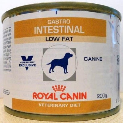 Royal Canin Gastro Intestinal Low Fat 200 gr