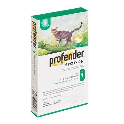 Profender Gato Peq 0,5-2,5Kg 20x0.35 ml