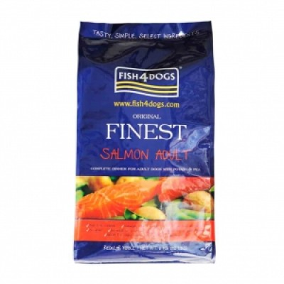 Finest Fish4Dog Salmon Complete