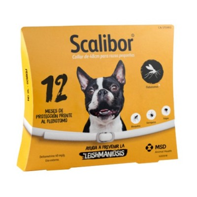 Collar antipulgas Scalibor pequeño 48cm