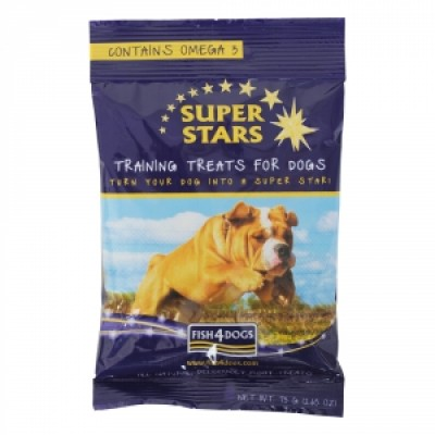 Fish4Dog Super Star Training Treats 70 Gr.