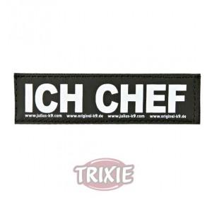 Etiquetas Velcro Julius-K9 Ich Chef, S