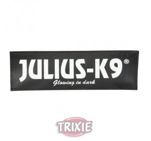 Etiquetas Velcro Julius-K9 Knutschkugel, L