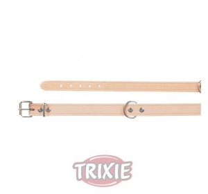 Collar Basic, Piel S-M, 33-39 Cm,16 Mm, Natural