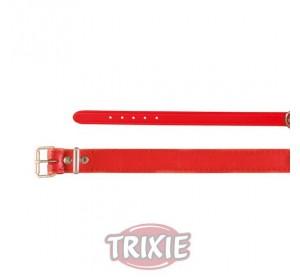 Collar Basic, Piel Xs-S, 24-29 Cm,12 Mm, Rojo
